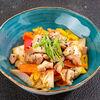 Фото к позиции меню Курица с овощами