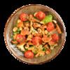 Фото к позиции меню Салат с помидорами и лисичками