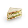 Фото к позиции меню Сандвич Копченый лосось