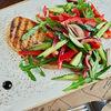Фото к позиции меню Куриная грудка с овощами