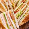 Фото к позиции меню Двойной клаб-сэндвич
