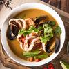Фото к позиции меню Суп Том-ям с морепродуктами