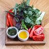 Фото к позиции меню Свежие овощи и зелень