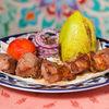 Фото к позиции меню Шашлык из ягненка по-узбекски