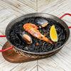 Фото к позиции меню Паэлья черная с морепродуктами