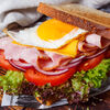 Фото к позиции меню Сэндвич с яйцом