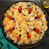 Фото к позиции меню Пицца черная с морепродуктами