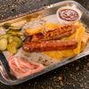 Фото к позиции меню Колбаски из мраморной говядины