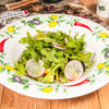 Фото к позиции меню Итальянский овощной салат с рукколой