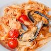 Фото к позиции меню Феттуччине с морепродуктами