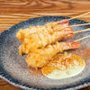 Фото к позиции меню Креветки темпура с медовым васаби