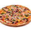 Фото к позиции меню Пицца Овощная с баклажаном
