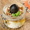 Фото к позиции меню Мацони с медом и грецкими орехами