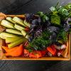 Фото к позиции меню Сезонные овощи и зелень