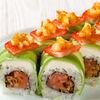 Фото к позиции меню Ролл с лососем тартар