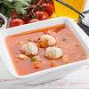 Фото к позиции меню Суп овощной с фрикадельками