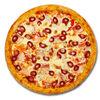 Фото к позиции меню Пицца Охотничья