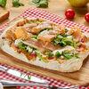 Фото к позиции меню Римская пицца с лососем