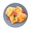 Фото к позиции меню Филе куриное, запеченное с помидорми под сырной корочкой
