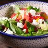 Фото к позиции меню Салат из свежих овощей с брынзой
