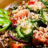 Фото к позиции меню Салат овощной с орехами