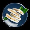 Фото к позиции меню Суси сэндвич с лососем