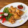 Фото к позиции меню Шашлык из куриных крылышек
