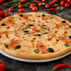 Фото к позиции меню Пицца с лососем