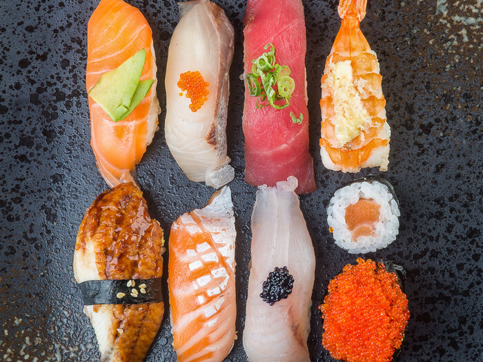 Рис & fish