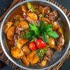 Фото к позиции меню Жареха из говядины и овощей