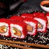 Фото к позиции меню Ролл Калифорния с лососем