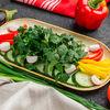 Фото к позиции меню Садовые свежие овощи
