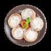 Фото к позиции меню Тофники с ягодами годжи запеченные