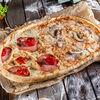 Фото к позиции меню Пицца Четыре вида полуметровая