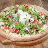 Фото к позиции меню Пицца Буррата с томатами