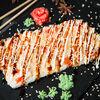 Фото к позиции меню Суши-пицца с курицей