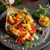 Фото к позиции меню Камбала с овощами в азиатском стиле