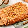 Фото к позиции меню Пирог с творогом и персиком