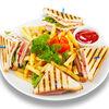 Фото к позиции меню Клаб сэндвич