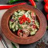 Фото к позиции меню Овощной салат с грецкими орехами по-грузински