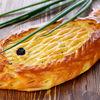 Фото к позиции меню Пирог с сельдью и сметаной