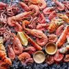 Фото к позиции меню Ассорти морепродуктов