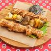 Фото к позиции меню Шашлычки из куриного филе с овощами
