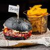 Фото к позиции меню Бургер Скандал с вишневым джемом
