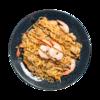 Фото к позиции меню Лапша якуми с курицей и креветками
