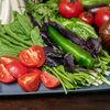 Фото к позиции меню Сезонные овощи с ароматной зеленью