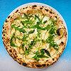 Фото к позиции меню Пицца с грушей и горгонзолой