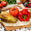 Фото к позиции меню Овощное ассорти на углях