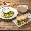 Фото к позиции меню Вегетарианский обед