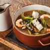 Фото к позиции меню Мисо суп с креветкой